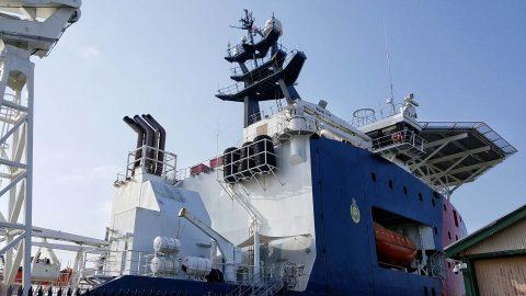 Ship Ahoy! ABFC Ocean Shield