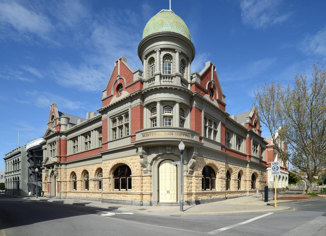 The glorious heritage restoration Photo: Yerbury Press