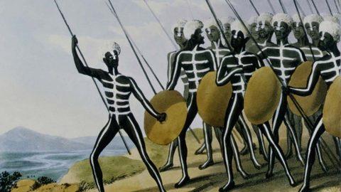 Did Indigenous warriors influence the development of Australian rules football?