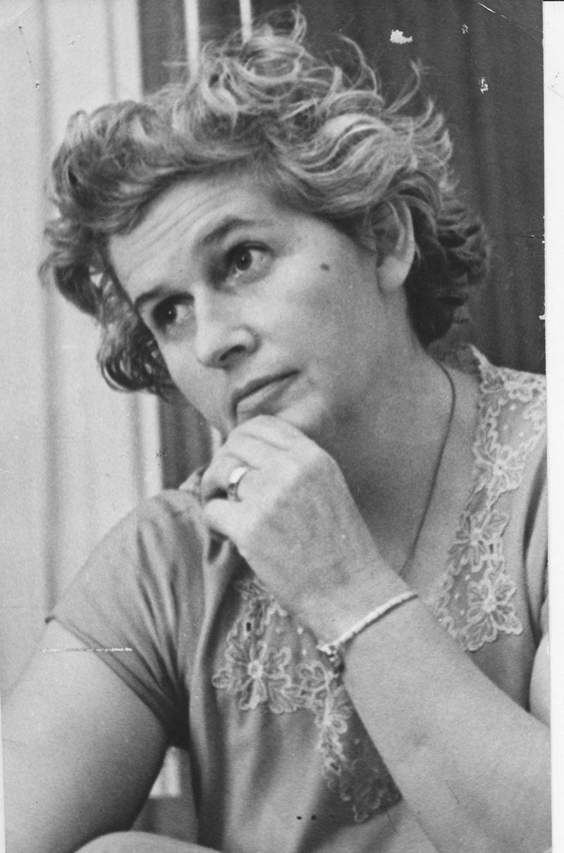 Dorothy Hewitt, 1965. University of Western Australia archives.