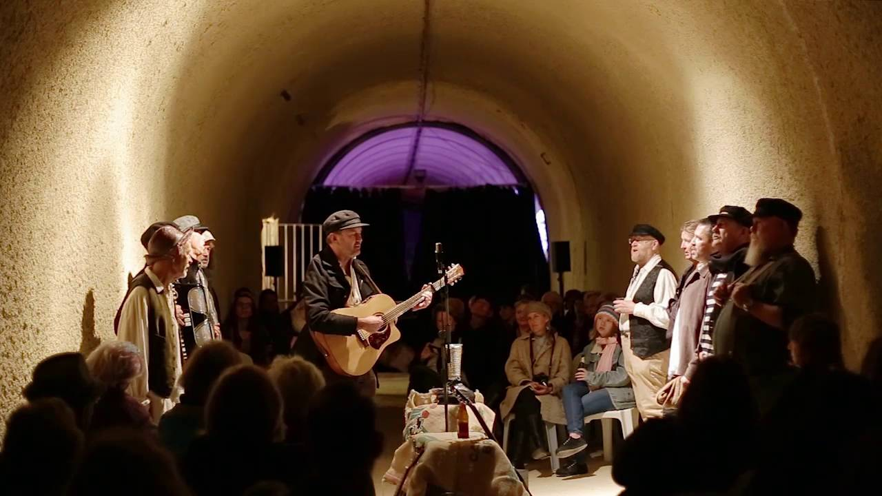 Last year's 'Songs of the Sea' in Whalers Tunnel