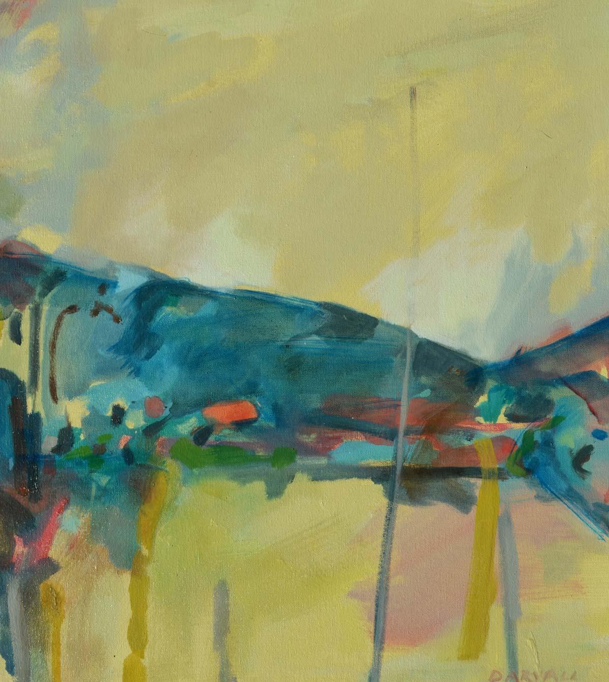 Blue Mountain Pink Haze by Jo Darvall