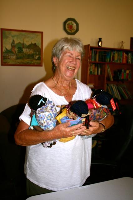 Doris Van Keulen and dolls