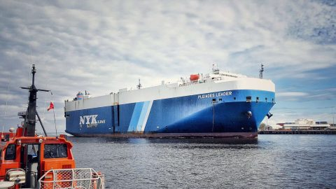 Ship Ahoy! Pleiades Leader