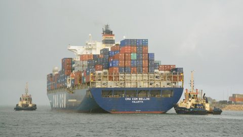 Ship Ahoy! CMA CGM BELLINI Valletta