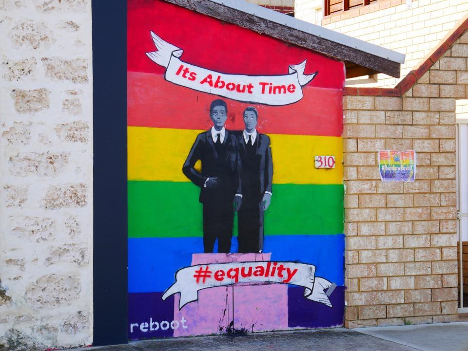 'It's About Time' wall Art, off South Terrace