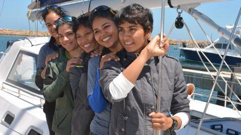 Female Crew Command the Seas