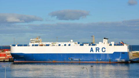 Ship Ahoy! ARC M/V Patriot