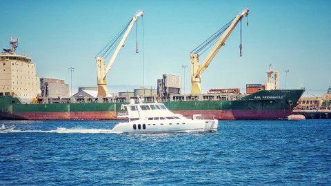 Ship Ahoy!  AAL Fremantle