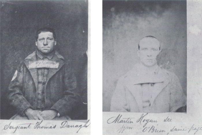 Fenian escapees Thomas Darragh and Michael Hogan