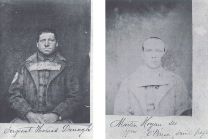 Fenian escapees Thomas Darragh and Michael Hogan
