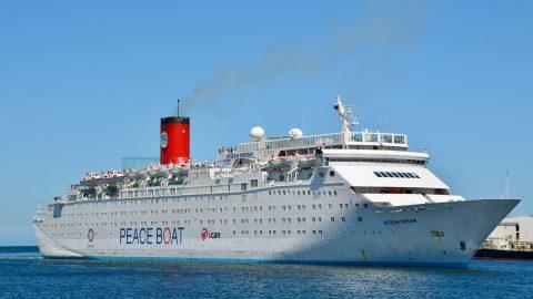 Ship Ahoy!  Peace Boat