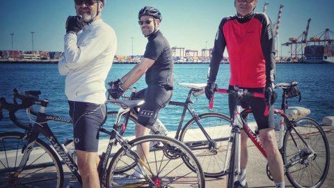 Seen cycling