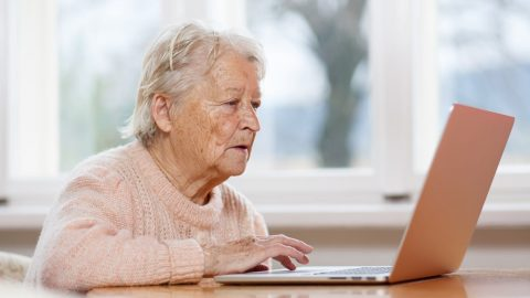 The digital divide: small, social programs can help get seniors online