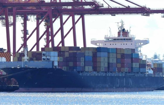 Ship in Fremantle Port - Lori
