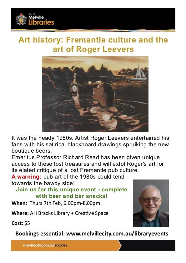 Art History - Roger Leevers - Richard Read