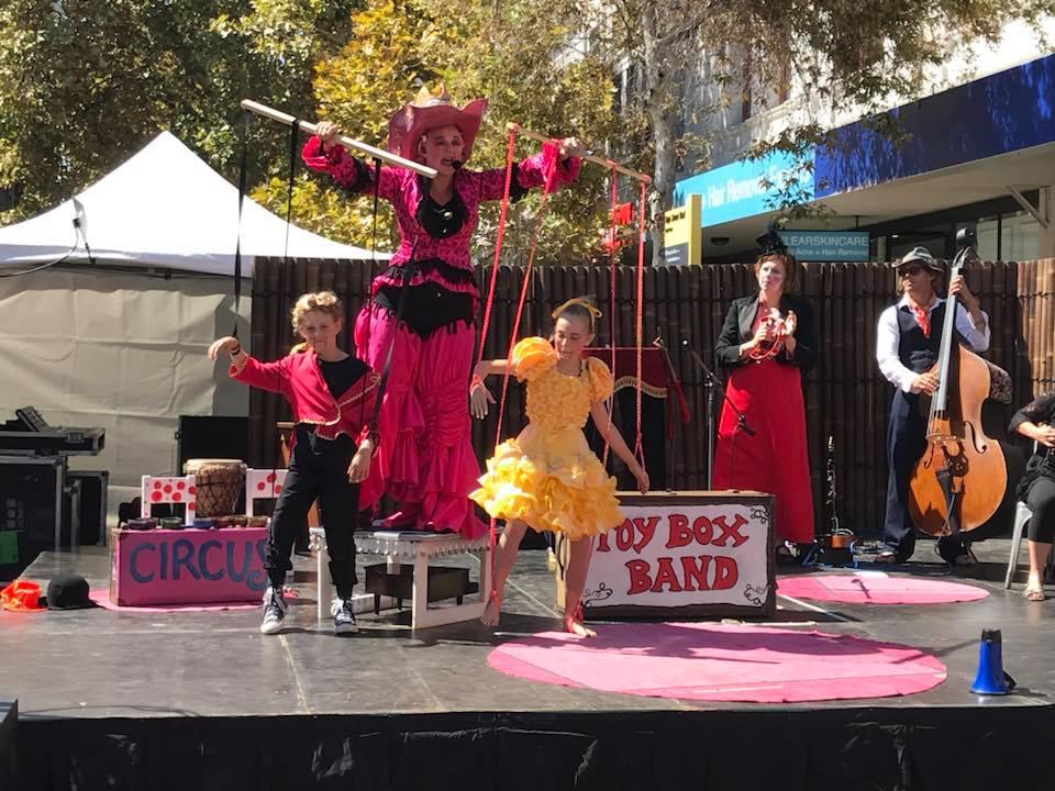 Shac Toyboxband family cabaret 2 by koral ward