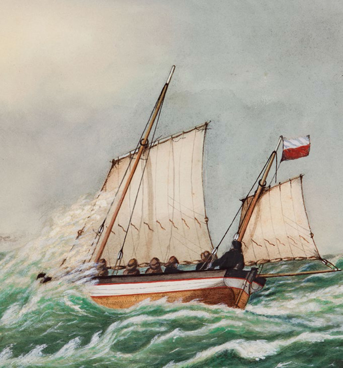 Pilot Painter - works on paper by Capt. George A.D. Forsyth