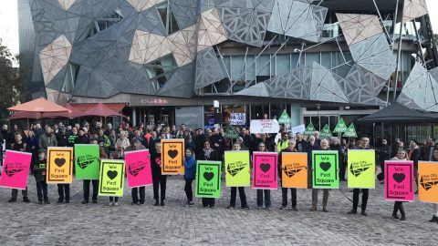 Fed Square Melbourne – Lessons For Our Kings Square?
