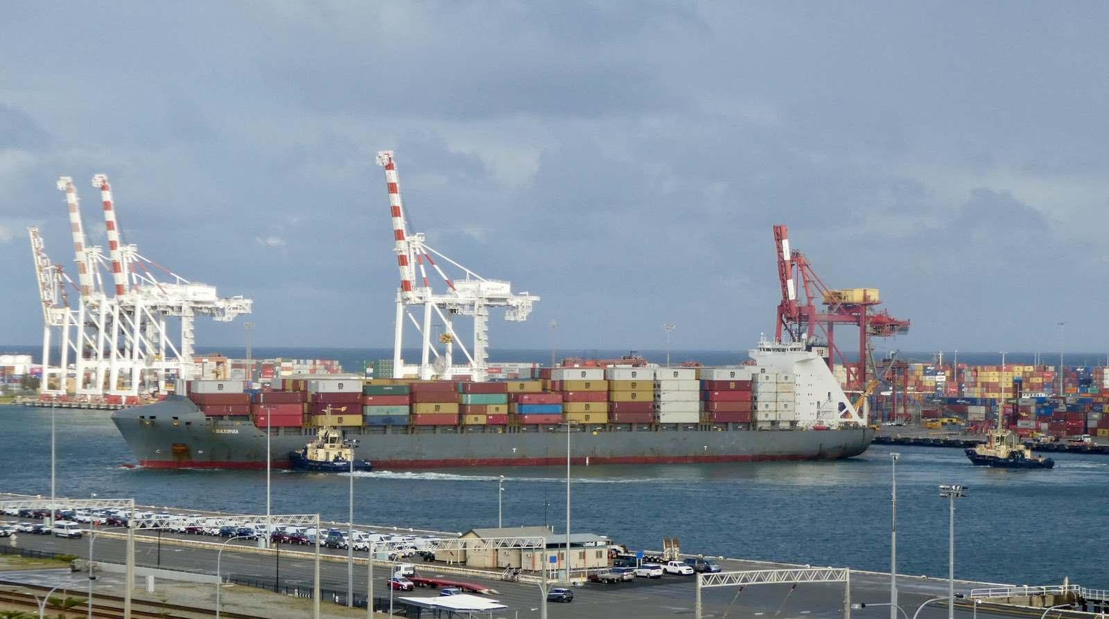 Fremantle Port today