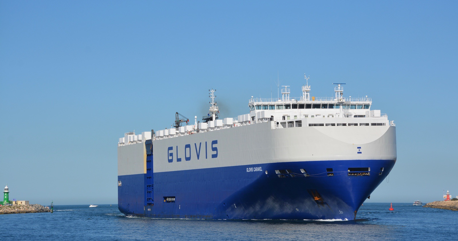 The Glovis visiting Freo