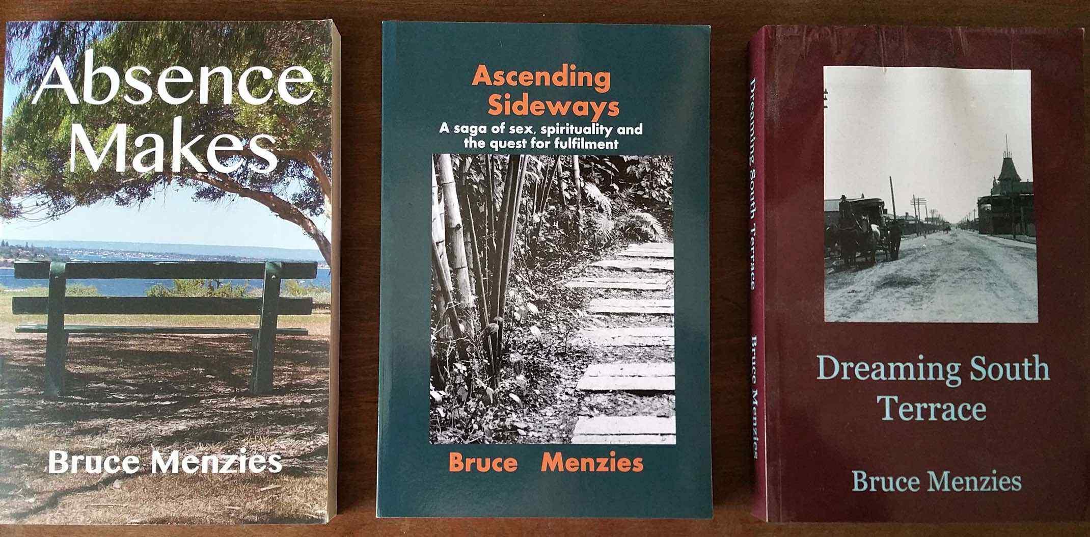 Front cover 3 novels 2