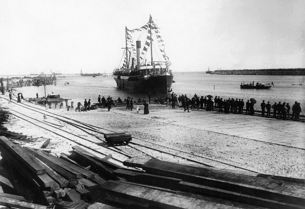 1897 Official Opening of Fremantle Harbour