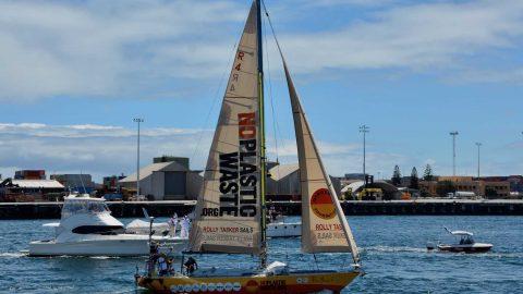 Jon Sanders sails into town
