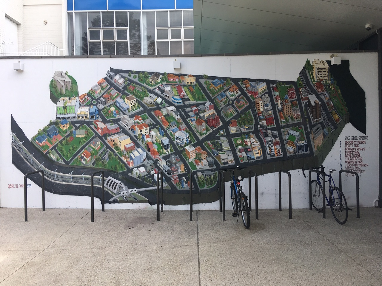 Mural for beatty park, Town of Vincent