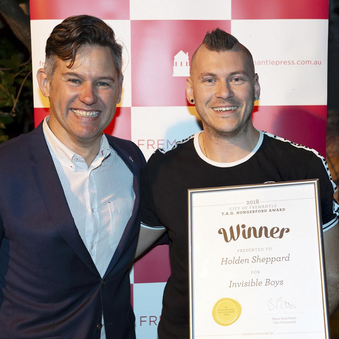 2019 winner Holden Sheppard