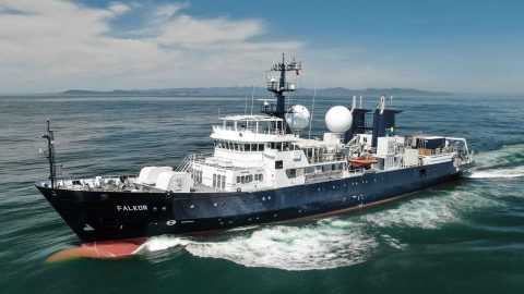 RV Falkor – Some Facts & Stats