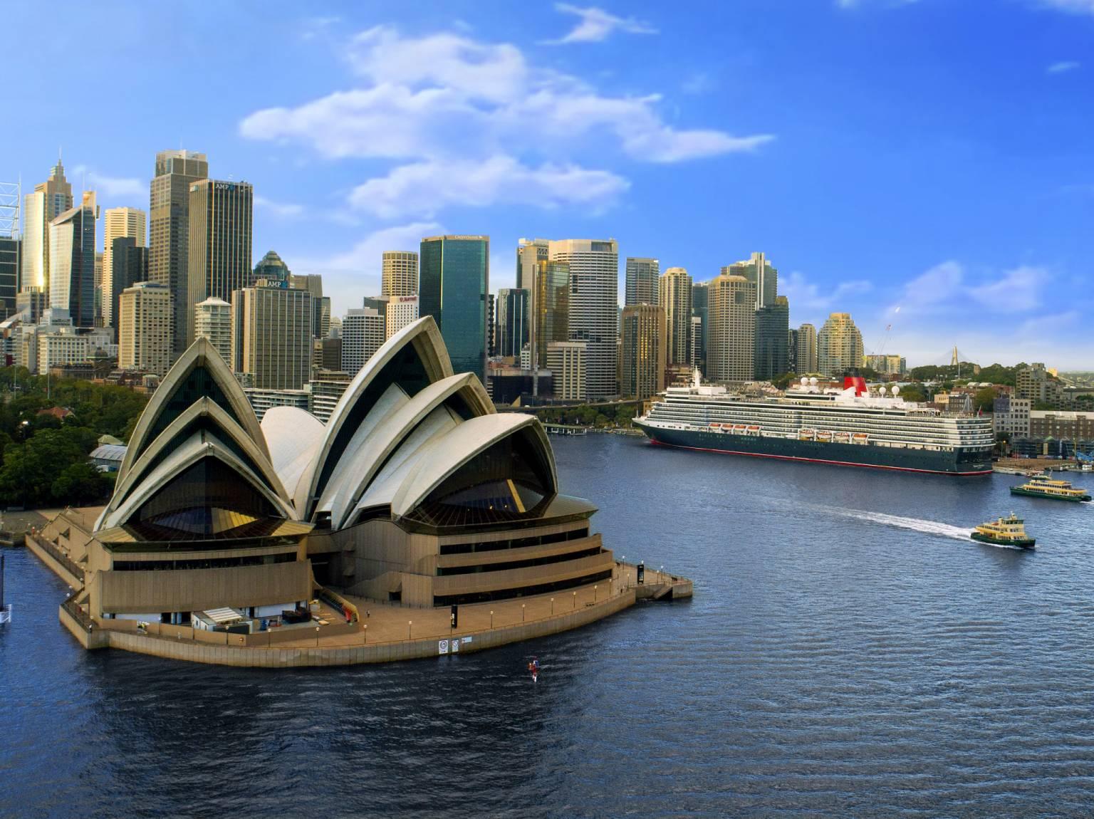 Queen Elizabeth in Sydney