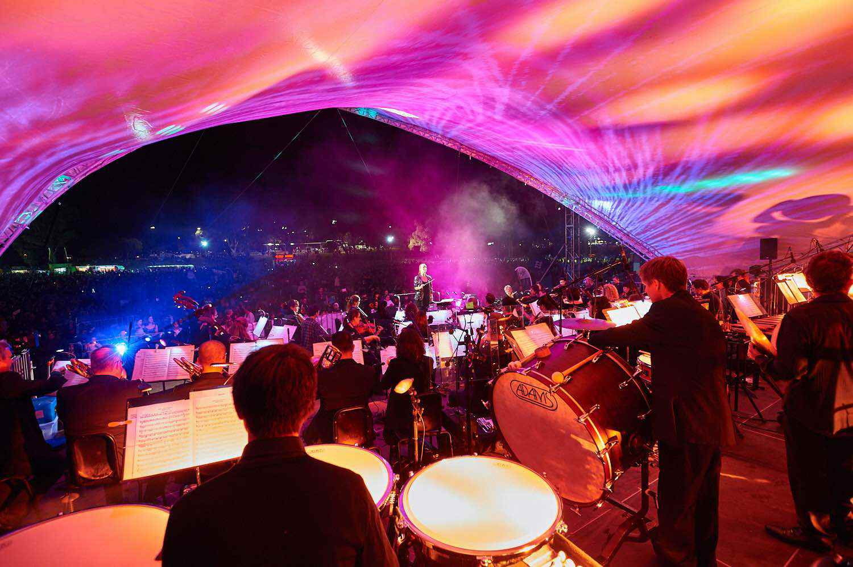 Perth Symphony Orchestra, photo by Richard Jefferson