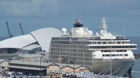 The World – Big 'Yacht' Now In Port