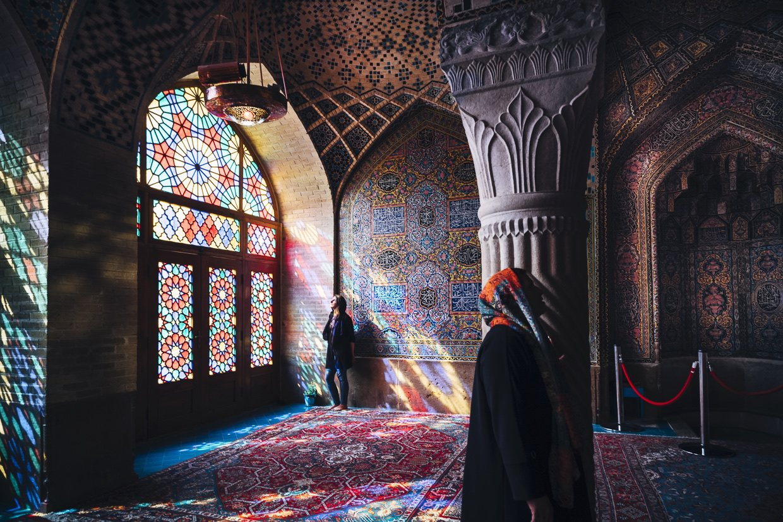 4 Iran-Shiraz - Pink Mosque