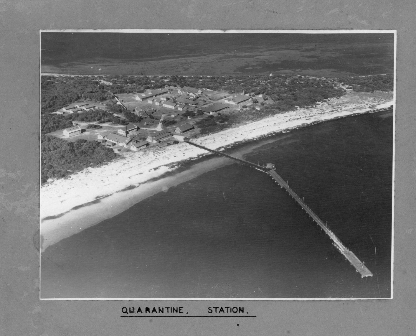 Quarantine Station aerial view2