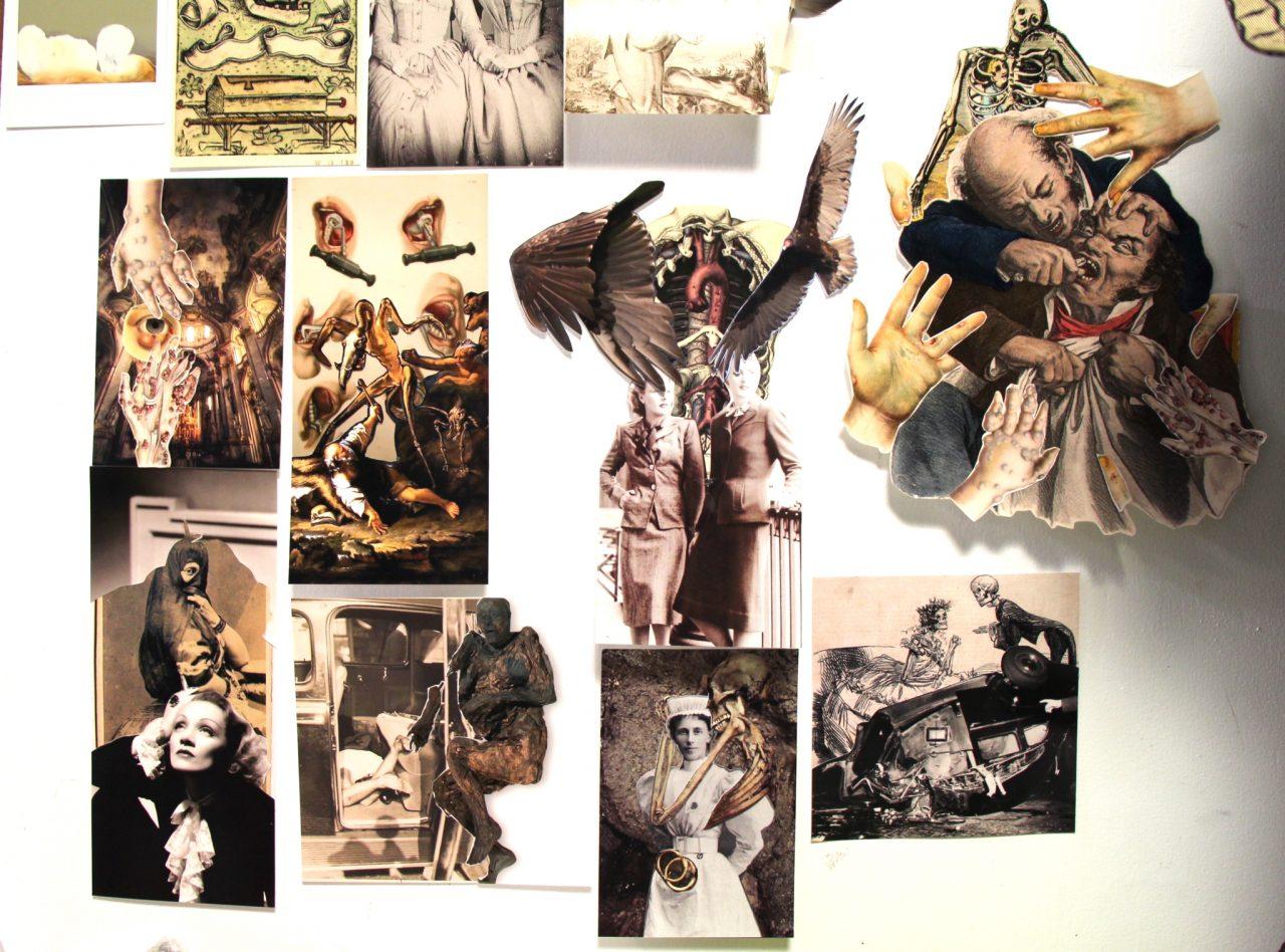 D'Arcy Coad, Collage